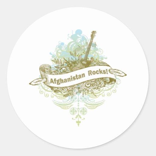 Afghanistan Rocks Stickers