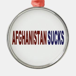 Afghanistan Sucks Christmas Ornament