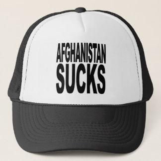 Afghanistan Sucks Trucker Hat