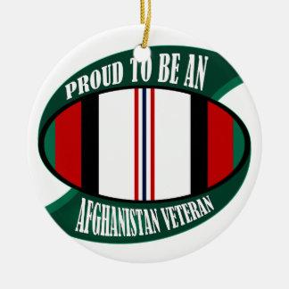 Afghanistan Vet Christmas Ornament