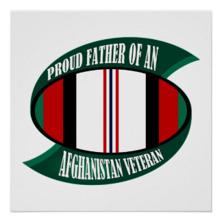 Afghanistan Vet Father Print
