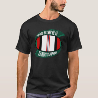 Afghanistan Vet Father T-Shirt