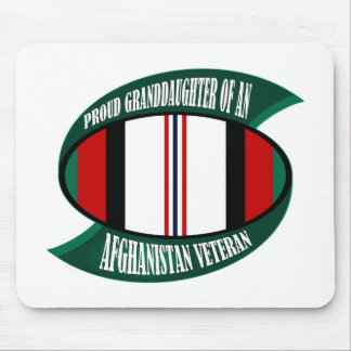 Afghanistan Vet Granddaughter Mouse Pad