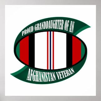 Afghanistan Vet Granddaughter Print