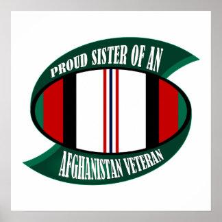 Afghanistan Vet Sister Posters