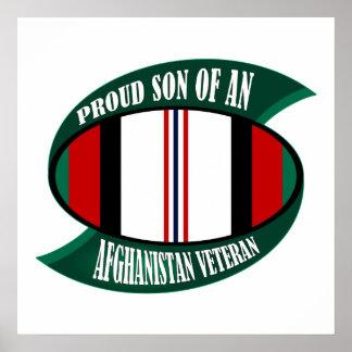 Afghanistan Vet Son Poster