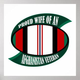 Afghanistan Vet Wife Print