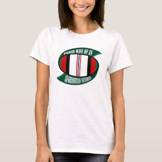 Afghanistan Vet Wife T-Shirt