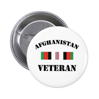 Afghanistan Veteran 6 Cm Round Badge
