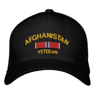 Afghanistan Veteran Bronze Star Embroidered Baseball Caps