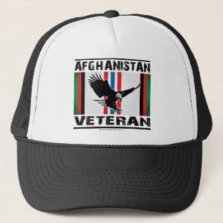 Afghanistan Veteran Eagle 2 Trucker Hat