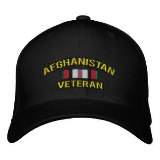Afghanistan Veteran Embroidered Cap