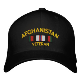 Afghanistan Veteran Embroidered Hat