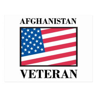 Afghanistan Veteran Postcard