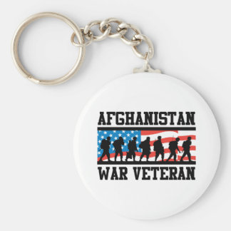 Afghanistan War Veteran Key Ring