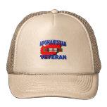 Afghanistan War Veteran Service Ribbon Cap