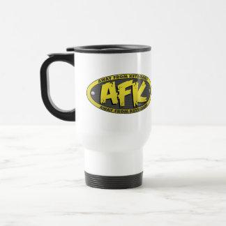 AFK Black Mug