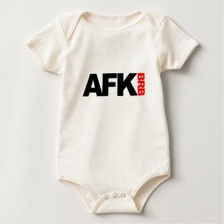 afk brb baby bodysuit