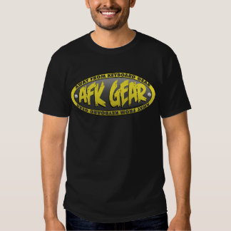 AFK Gear Black Shirt 1