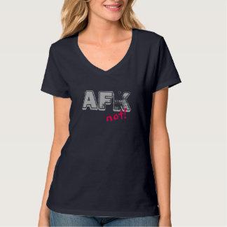 AFK grey pink T Shirts