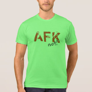 AFK orange grey Tshirts