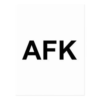 AFK POSTCARD
