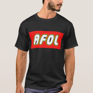 AFOL, Red Background T-Shirt