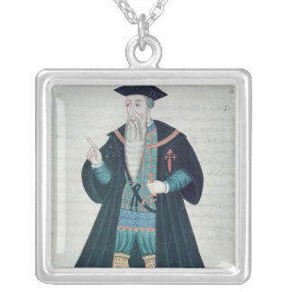 Afonso de Albuquerque Silver Plated Necklace