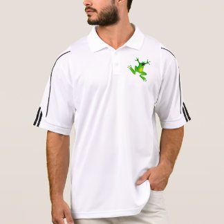 Afraid Green Frog T-shirt forMen