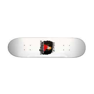 afraid of the dark skateboard deck