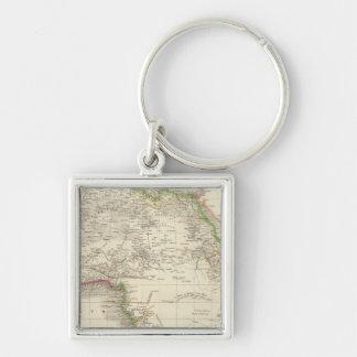 Africa 10 key ring