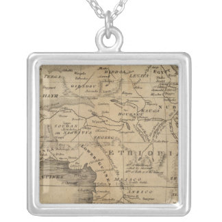 Africa 12 silver plated necklace