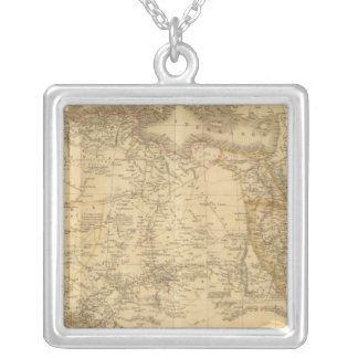Africa 14 silver plated necklace