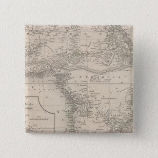 Africa 15 Cm Square Badge