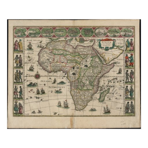Africa: 1635 poster