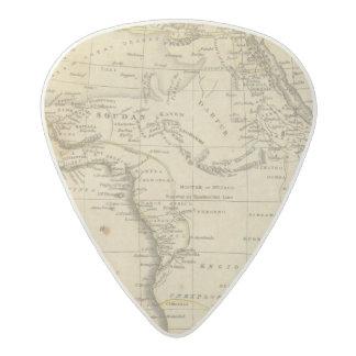 Africa 17 acetal guitar pick
