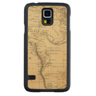 Africa 17 carved maple galaxy s5 case