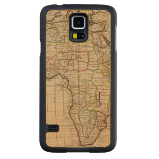 Africa 19 carved maple galaxy s5 case