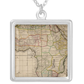 Africa 19 silver plated necklace