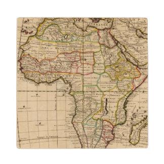 Africa 19 wood coaster
