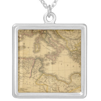 Africa 20 silver plated necklace