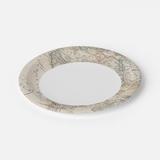 Africa 21 paper plate