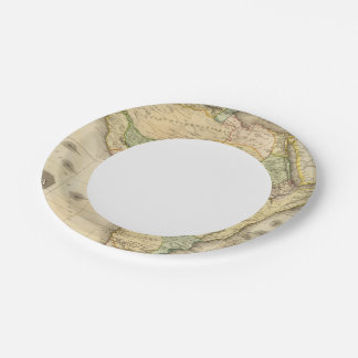 Africa 23 paper plate