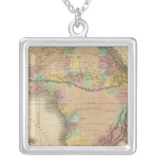 Africa 23 silver plated necklace