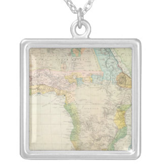 Africa 26 silver plated necklace