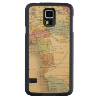 Africa 27 carved maple galaxy s5 case
