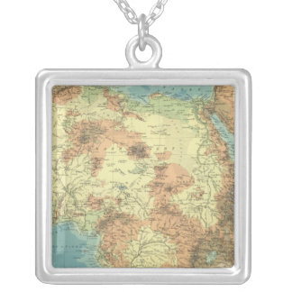 Africa 29 silver plated necklace