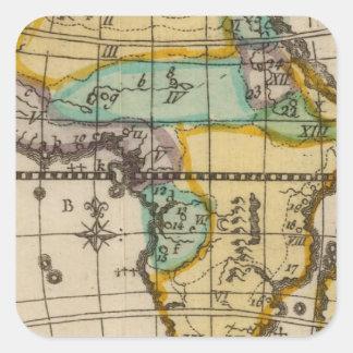 Africa 2 square sticker