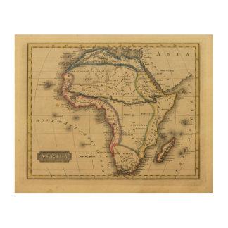 Africa 30 wood print