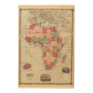 Africa 30 wood wall decor